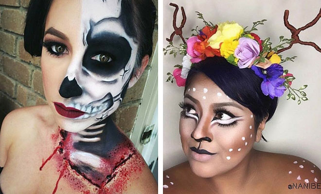 29 jaw dropping halloween makeup ideas page 2 of 2 stayglam beauty solutioingenieria Image collections