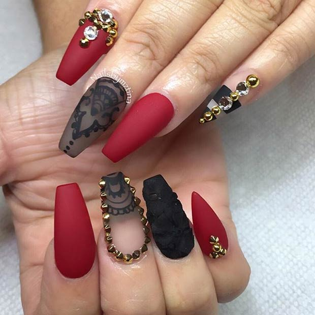 25 Matte Nail Designs Youll Want To Copy This Fall Stayglam Page 2