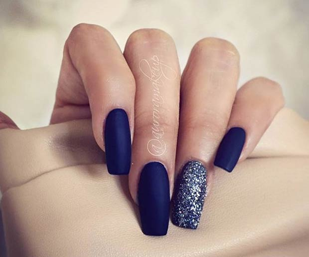 25 matte nail designs youll want to copy this fall stayglam instagram auroramakeup prinsesfo Choice Image