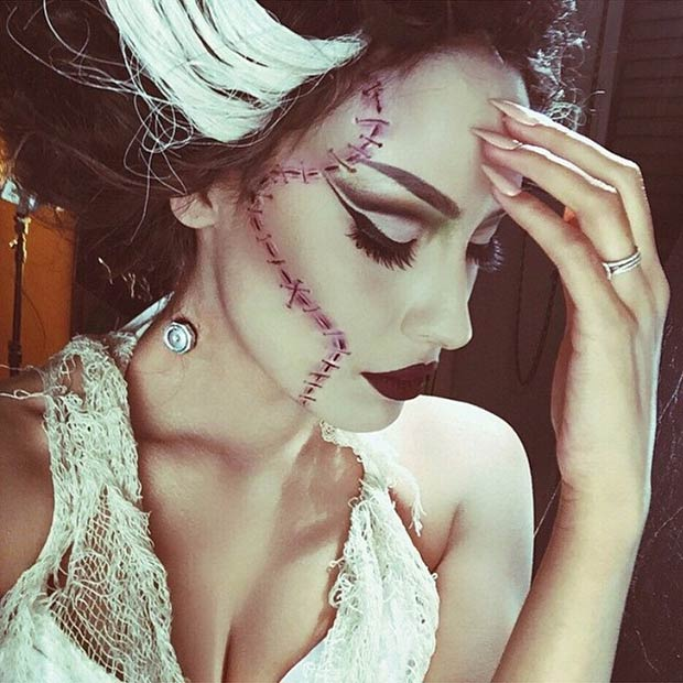 29 Jaw-Dropping Halloween Makeup Ideas | StayGlam