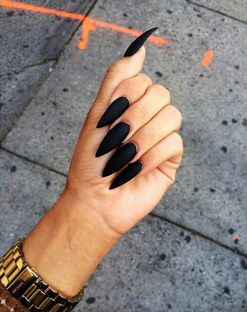 25 Matte Nail Designs Youll Want To Copy This Fall Page 2 Of 2
