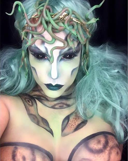 29 Jaw-Dropping Halloween Makeup Ideas foto