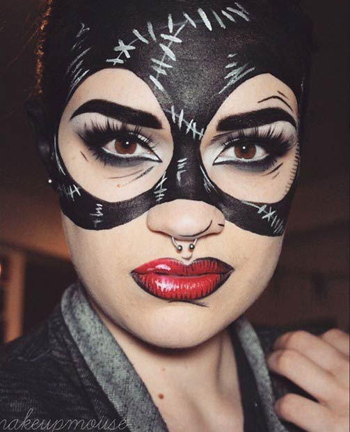 Trucco Halloween Catwoman.29 Jaw Dropping Halloween Makeup Ideas Stayglam