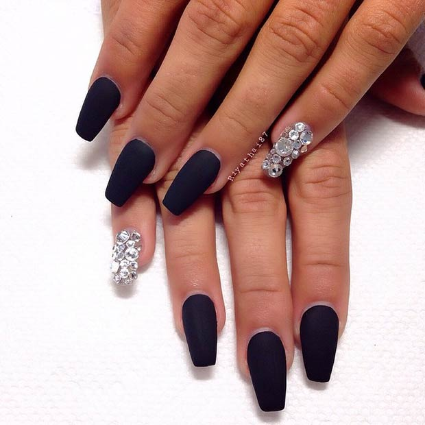 25 Matte Nail Designs You\'ll Want to Copy this Fall | Page 2 of 2 ...