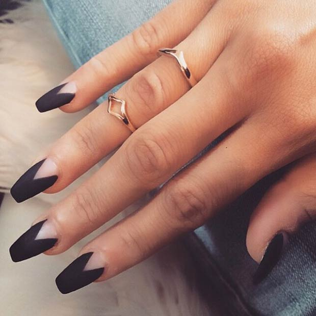 Instagram / riyathai87 - 25 Matte Nail Designs You'll Want To Copy This Fall StayGlam