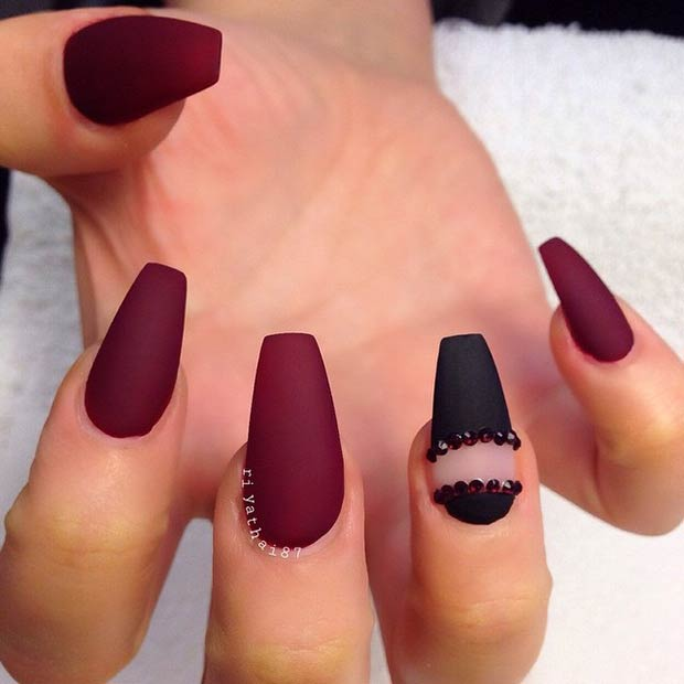 25 Matte Nail Designs You\'ll Want to Copy this Fall | StayGlam