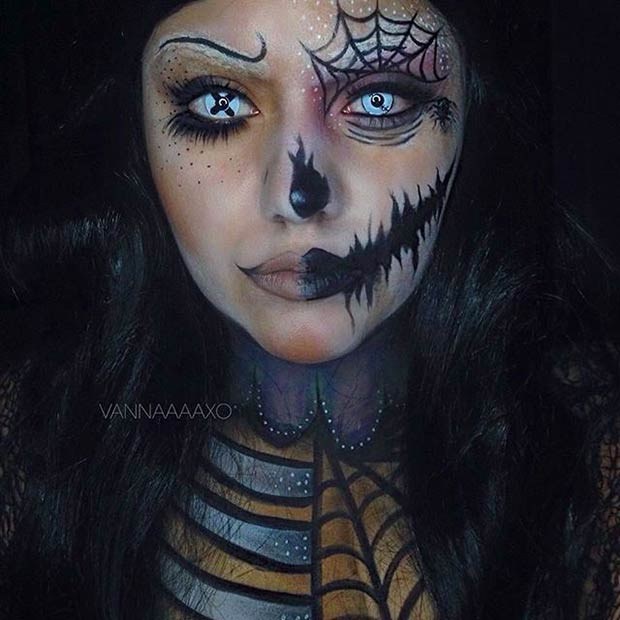 29 Jaw Dropping Halloween Makeup Ideas Page 2 Of 2