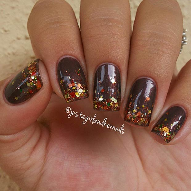 21 Amazing Thanksgiving Nail Art Ideas Page 2 Of 2 Stayglam