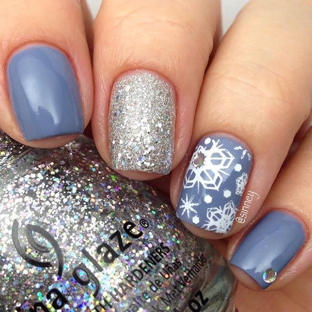 Winter Nail Art Designs