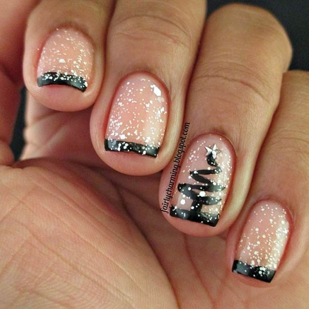 Elegant Christmas Nails Instagram Fairlycharming