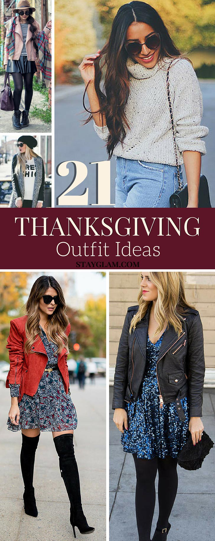 21 Comfy Stylish Thanksgiving Outfits