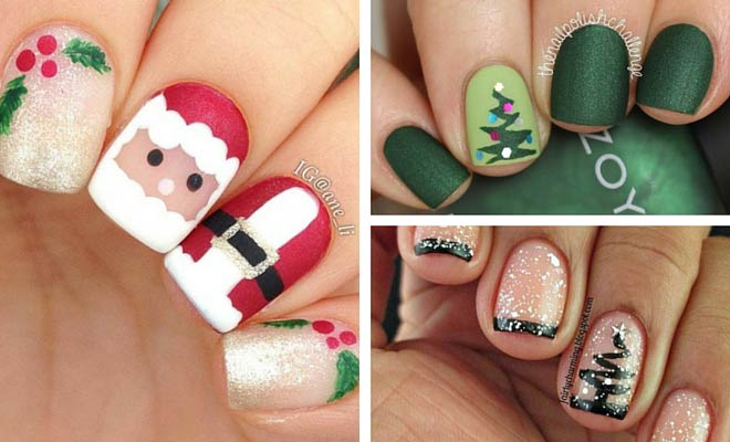 51 Christmas Nail Art Designs & Ideas for 2018 - 51 Christmas Nail Art Designs & Ideas For 2018 StayGlam