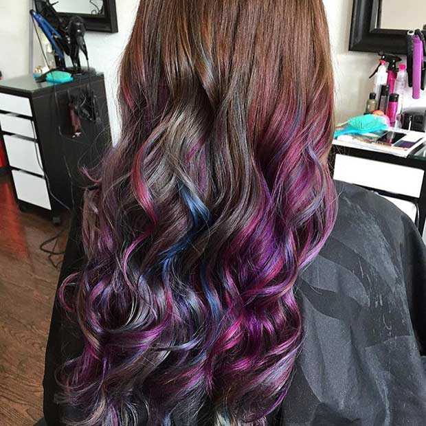 21 Looks That Will Make You Crazy For Purple Hair Stayglam