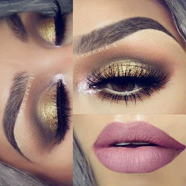 25 Perfect Holiday Makeup Looks and Tutorials – StayGlam ...