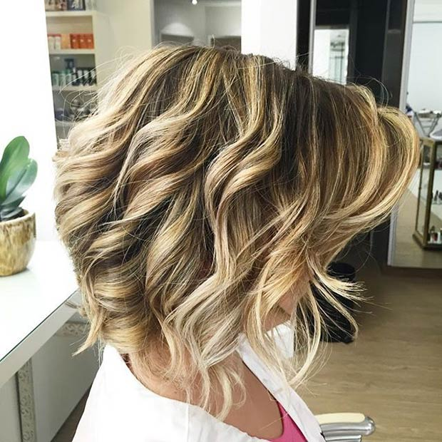 Inverted Bob Hairstyle Curly Pictures Short Hairstyle 2013