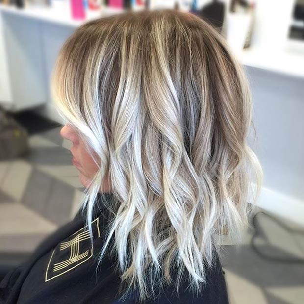 41 hottest balayage hair color ideas for 2016 stayglam - Balayage blond blanc ...
