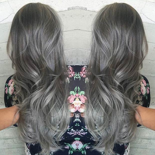 Grey Hair Cover Your To Any Colour Blonde Violet Black Etc Anic Natural