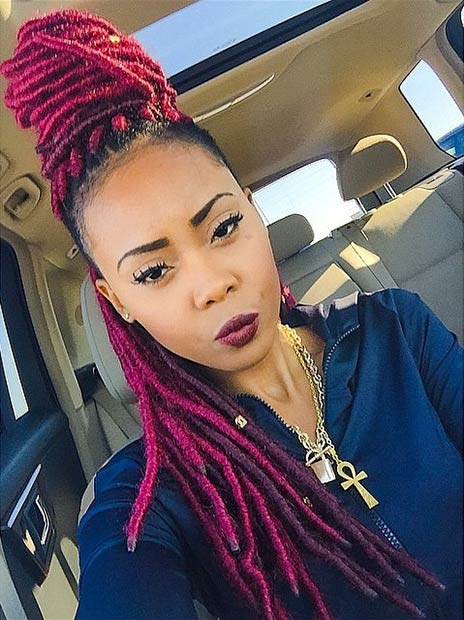 Miraculous 31 Faux Loc Styles For African American Women Stayglam Short Hairstyles Gunalazisus