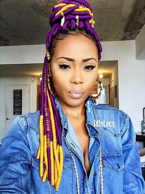 31 Faux Loc Styles For African American Women Page 2 Of