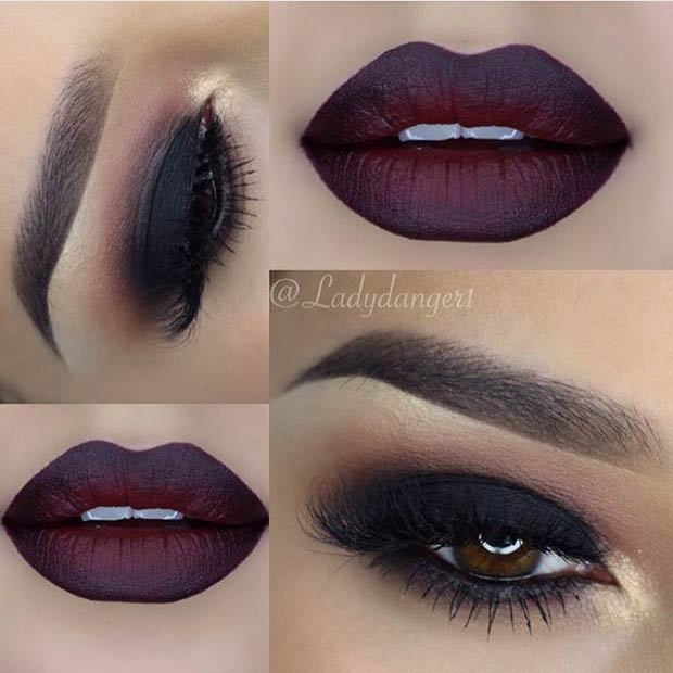Natural Smokey Eye For Dark Skin