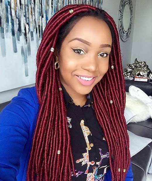 Wondrous 31 Faux Loc Styles For African American Women Page 3 Of 3 Stayglam Short Hairstyles Gunalazisus
