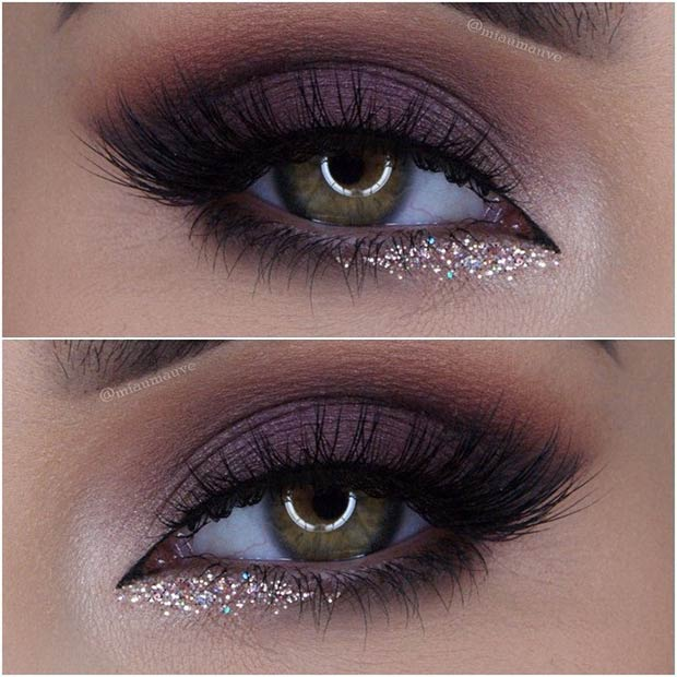 25 Perfect Holiday Makeup Looks And Tutorials Stayglam