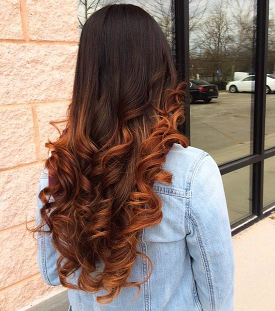 41 hottest balayage hair color ideas for 2016 stayglam for Balayage braun caramel
