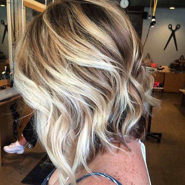 Textured A Line Haircut | Hair Color Ideas and Styles for 2018