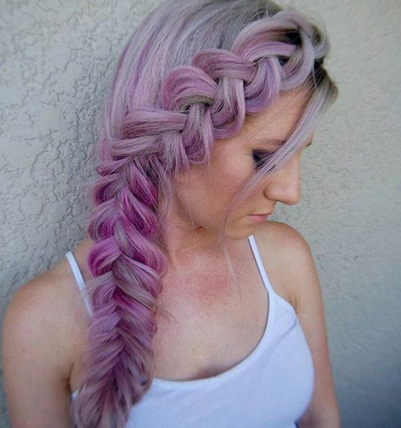 Asians With Colored Hair Awesome Color Purple Recent Black And Grey Elegant I