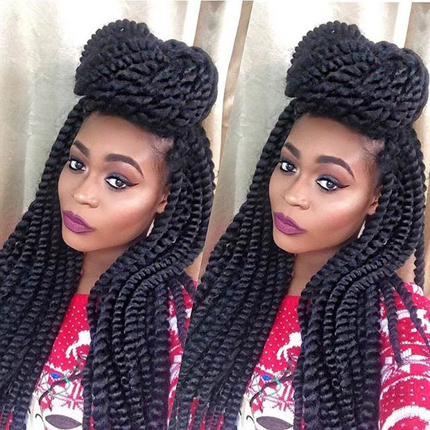 Crochet Twist Styles : 41 Chic Crochet Braid Hairstyles for Black Hair StayGlam