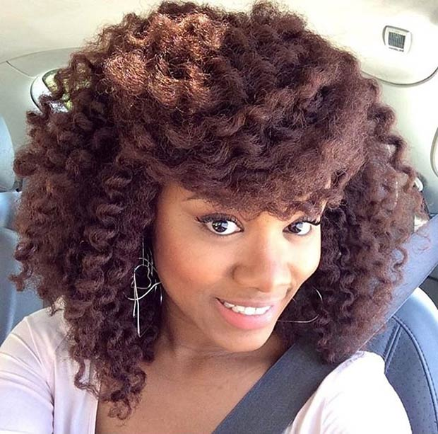 Crochet Braids Underneath : 41 Chic Crochet Braid Hairstyles for Black Hair Page 3 of 4 ...