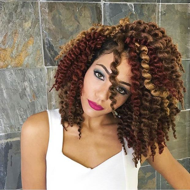 how to make your crochet braids look natural