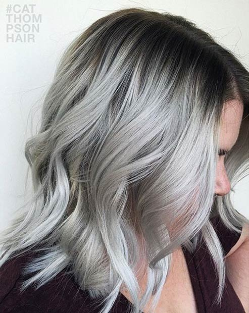 21 Stunning Grey Hair Color Ideas And Styles Page 2 Of 2 Stayglam