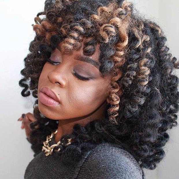 41 Chic Crochet Braid Hairstyles For Black Hair Page 3 Of 4 Stayglam