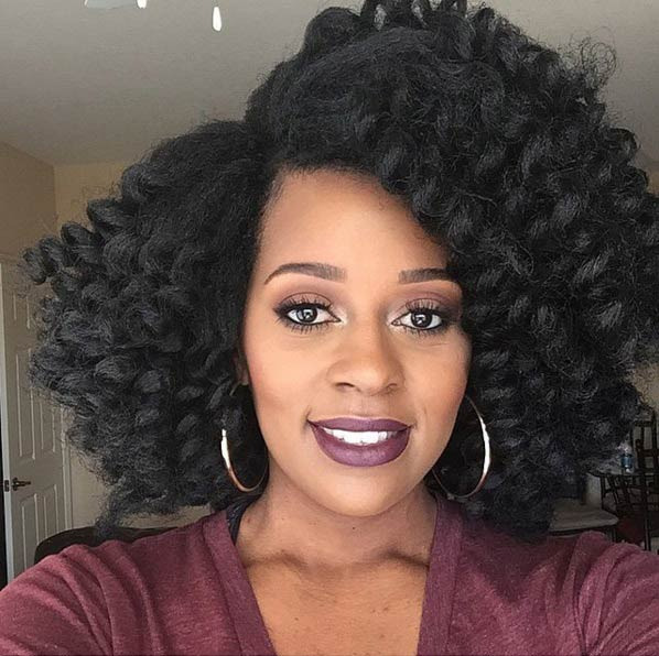 Strange 41 Chic Crochet Braid Hairstyles For Black Hair Stayglam Short Hairstyles For Black Women Fulllsitofus
