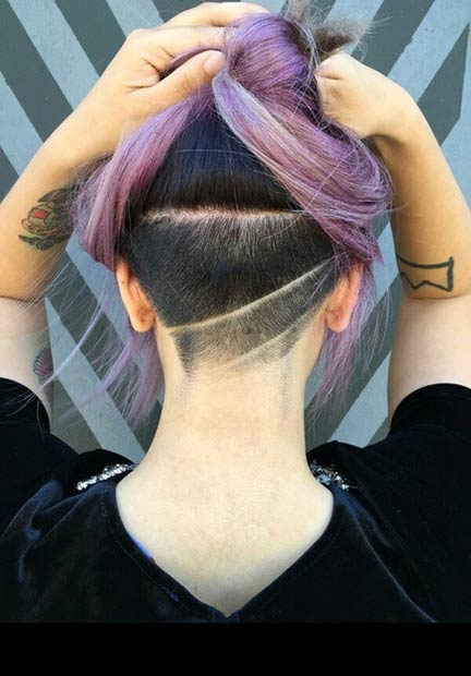 31 Trendy Undercut Styles for Bold Women | Page 3 of 3 ...