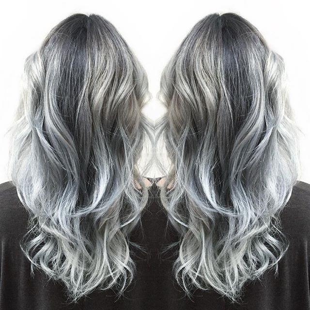Wash Out Hair Dye Silver