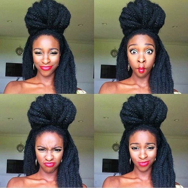 Crochet Up Hairstyles : 41 Chic Crochet Braid Hairstyles for Black Hair Page 2 of 4 ...