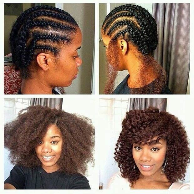 Enjoyable 41 Chic Crochet Braid Hairstyles For Black Hair Page 2 Of 4 Short Hairstyles For Black Women Fulllsitofus
