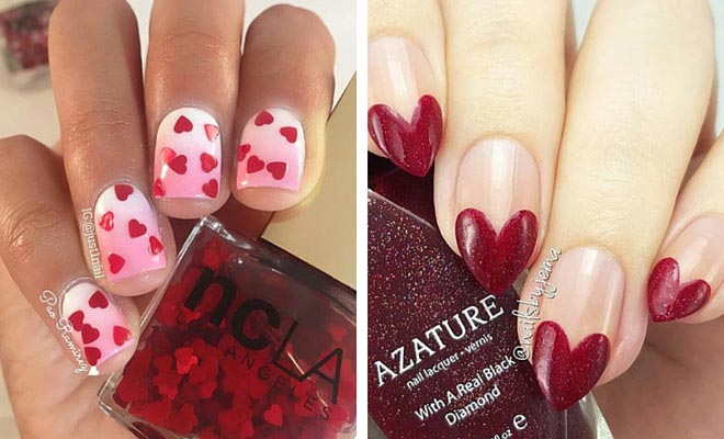 - 35 Cute Valentine's Day Nail Art Designs StayGlam