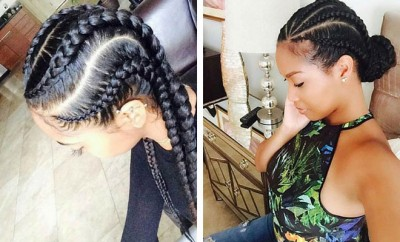Stylish Ways to Rock Cornrows