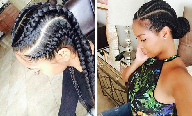 Strange 31 Stylish Ways To Rock Cornrows Stayglam Short Hairstyles For Black Women Fulllsitofus