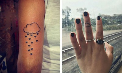 Cloud Tattoo Ideas and Designs