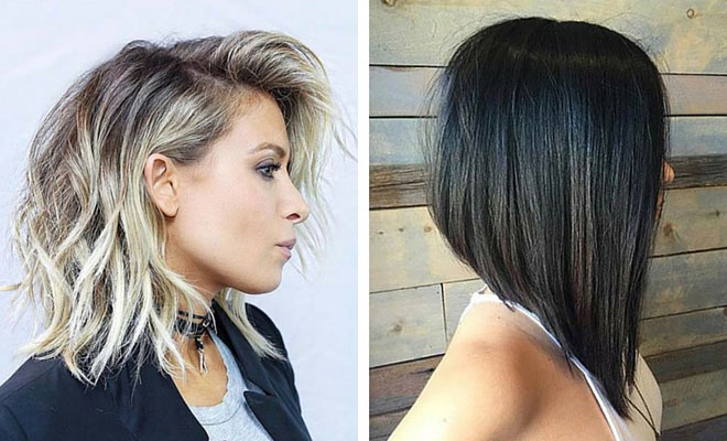 Z Cut Hairstyle: 31 Lob Haircut Ideas For Trendy Women