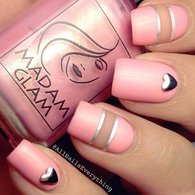 35 Cute Valentines Day Nail Art Designs Page 2 Of 3 Stayglam