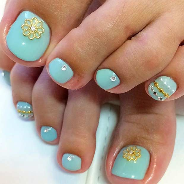 31 Easy Pedicure Designs for Spring | Page 3 of 3 | StayGlam