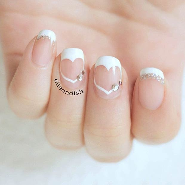 Nail Art Valentines: 35 Cute Valentine's Day Nail Art Designs