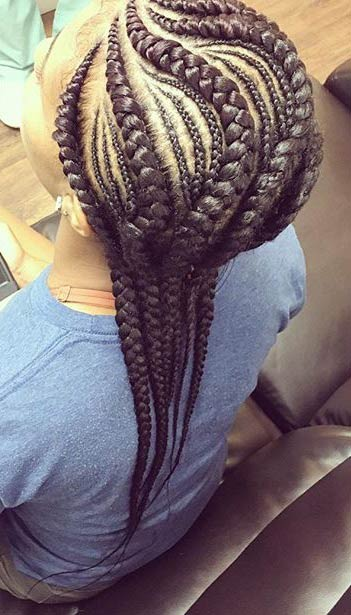 Strange 31 Stylish Ways To Rock Cornrows Page 2 Of 3 Stayglam Hairstyle Inspiration Daily Dogsangcom