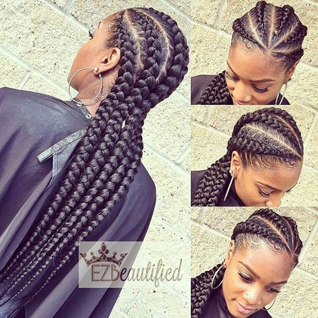 Phenomenal 31 Stylish Ways To Rock Cornrows Page 2 Of 3 Stayglam Hairstyle Inspiration Daily Dogsangcom