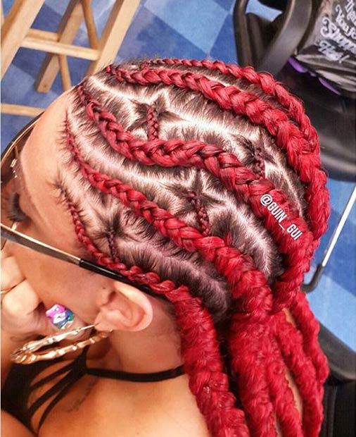 Brilliant 31 Stylish Ways To Rock Cornrows Stayglam Hairstyle Inspiration Daily Dogsangcom